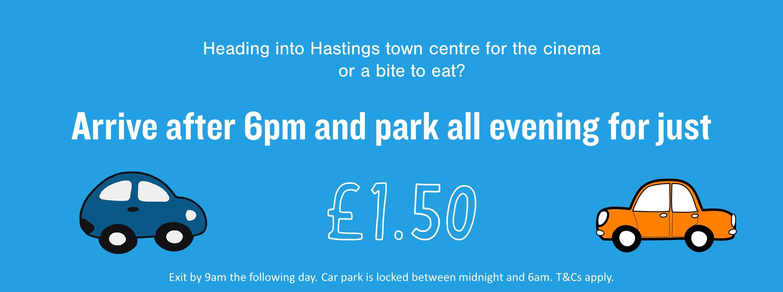 Evening Parking Web Banner