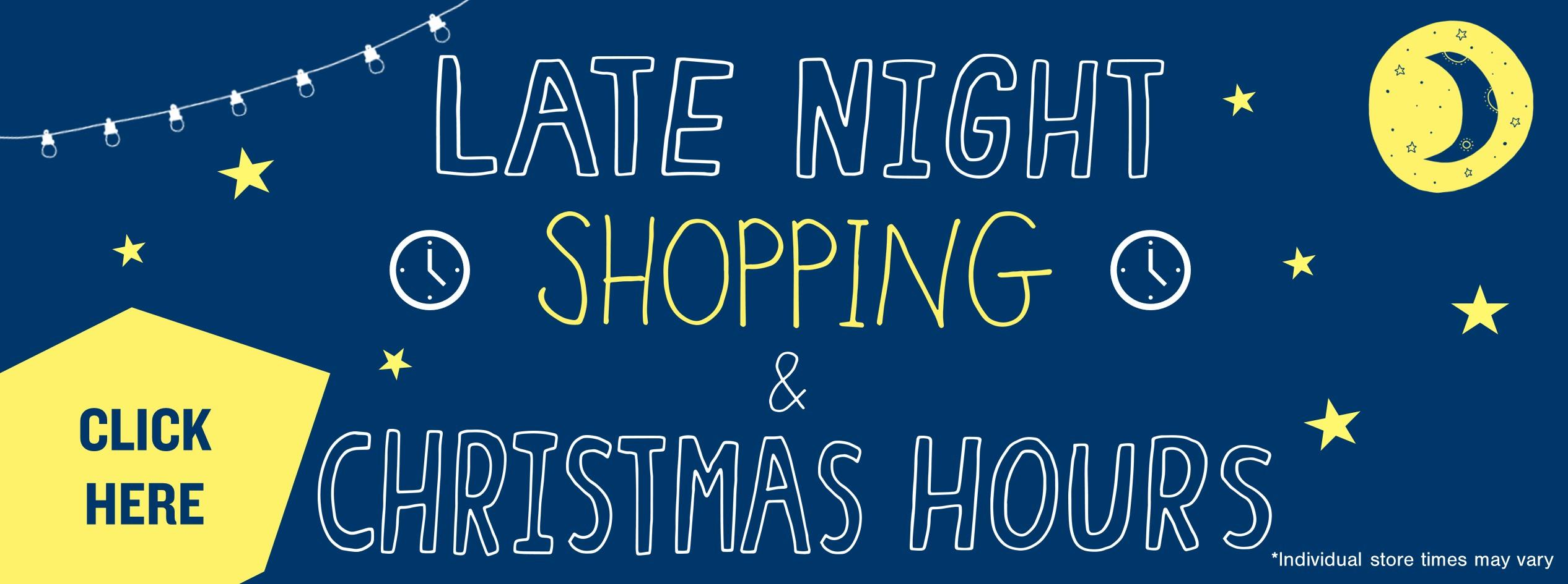 Late Night Shopping Website Banner JPEG