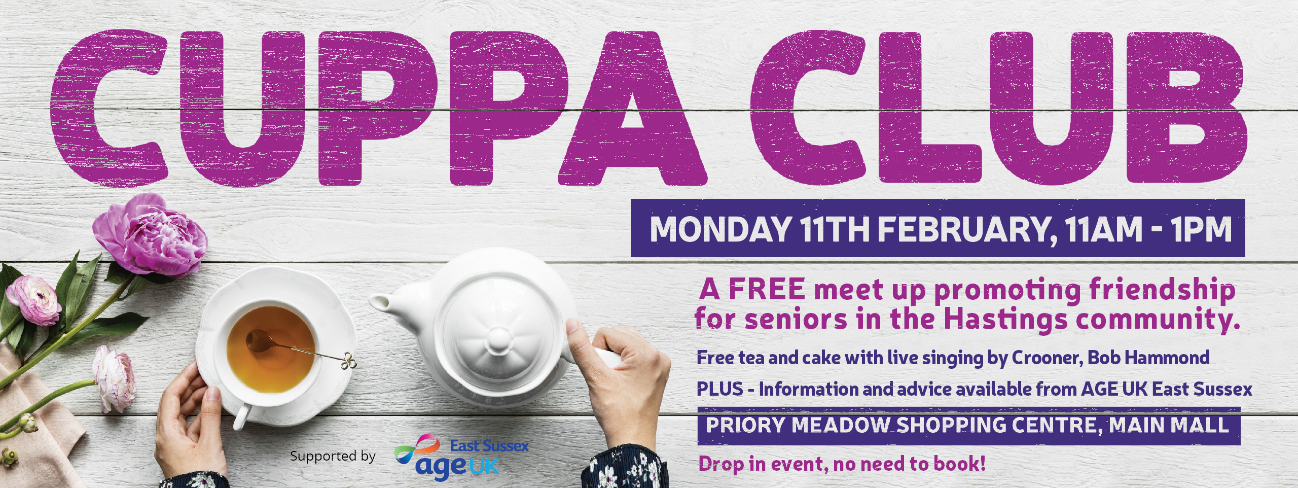 Priory Meadows Cuppa Club Web Banner AMEND JAN19 V2