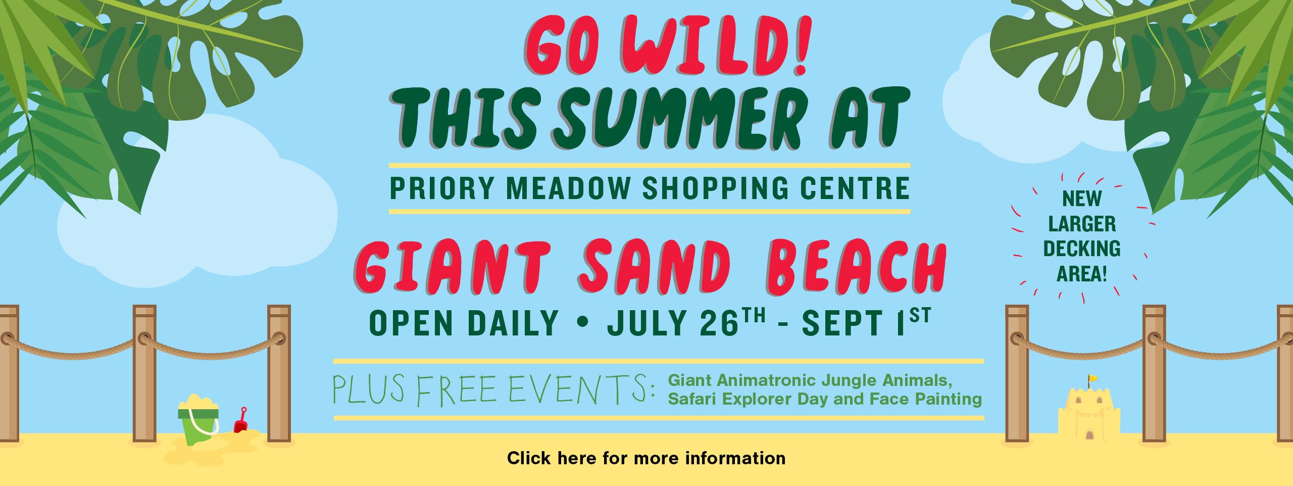 Priory Meadows Summer Go Wild Web Banner JUN19 V1